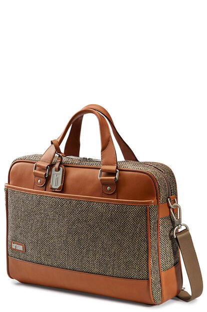 Tweed Belting Business Briefcase M