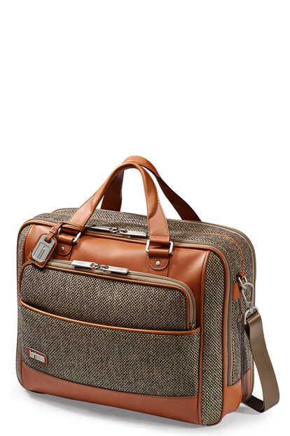Tweed Belting Business Briefcase L