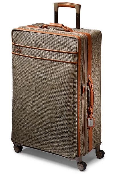 Tweed Belting Travel Spinner (4 wheels) 86cm