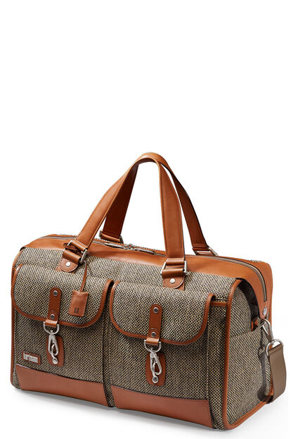 Tweed Belting Travel Duffle Bag 50cm