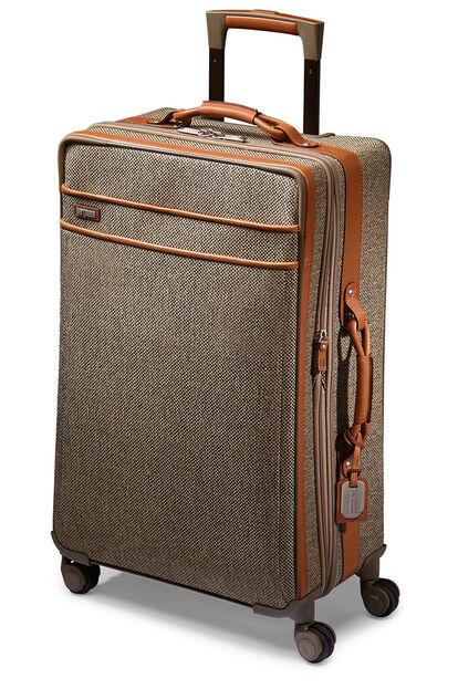 Tweed Belting Travel Spinner (4 wheels) 74cm