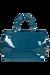 Lipault Plume Vinyle Duffle Bag M Duck Blue