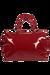 Lipault Plume Vinyle Duffle Bag M Ruby