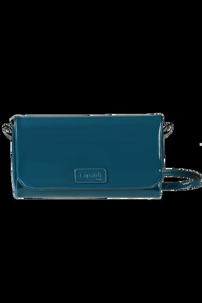 Plume Vinyle Clutch Bag M