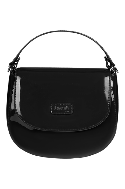 Plume Vinyle Saddle Bag
