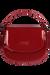 Lipault Plume Vinyle Saddle Bag Ruby