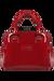 Lipault Plume Vinyle Handbag S Ruby