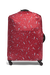 Lipault Izak Zenou Collab Luggage Cover M Pose/Garnet Red