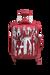 Lipault Izak Zenou Collab Spinner (4 wheels) 55cm Pose/Garnet Red
