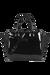 Lipault Plume Vinyle Satchel Bag S Black