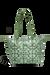 Lipault Fall For You Shopping bag S Kaki/Aquagreen/Flowers