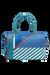 Lipault North Coast Weekend Bag M Stripes/Coral/Blue
