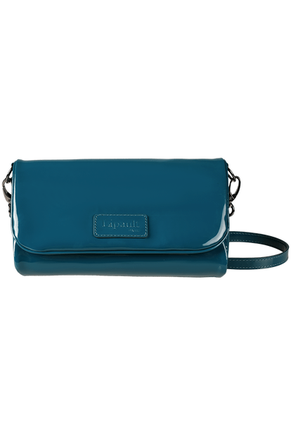Plume Vinyle Clutch Bag S
