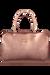 Lipault Miss Plume Weekend Bag M Pink Gold