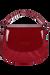 Lipault Plume Vinyle Handbag Ruby
