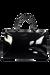 Lipault Plume Vinyle Duffle Bag M Black
