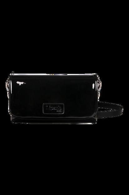 Plume Vinyle Clutch Bag S