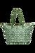 Lipault Fall For You Shopping bag M Kaki/Aquagreen/Flowers