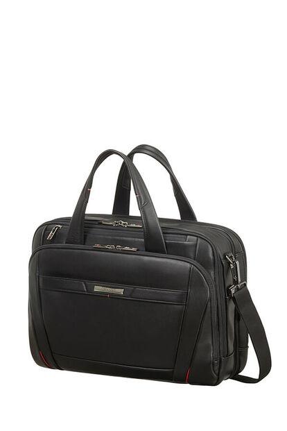 Pro-Dlx 5 Lth Briefcase