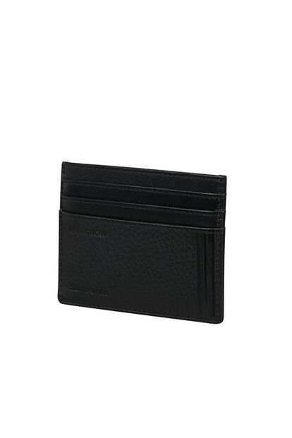 Double Leather Slg Credit Card Holder