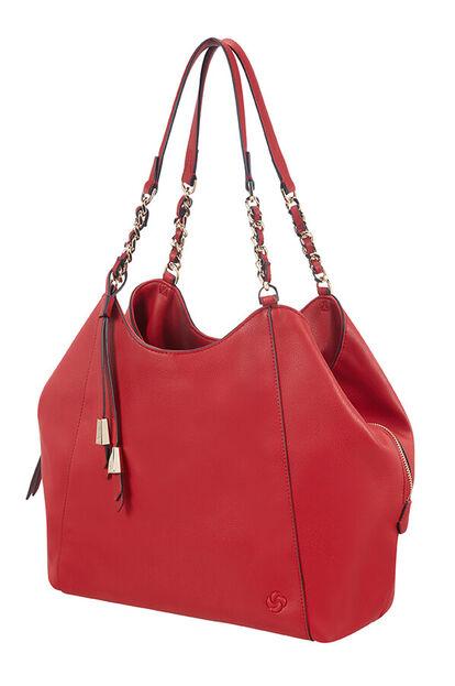 Satiny Hobo bag