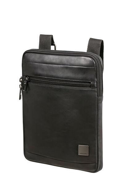Hip-Square Lth Crossbody Bag L