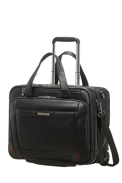 Pro-Dlx 5 Lth Laptop Bag with wheels