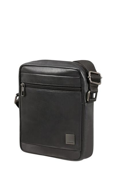 Hip-Square Lth Crossbody Bag M