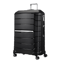 Samsonite Flux Spinner Expandable (4 wheels) 81cm Black