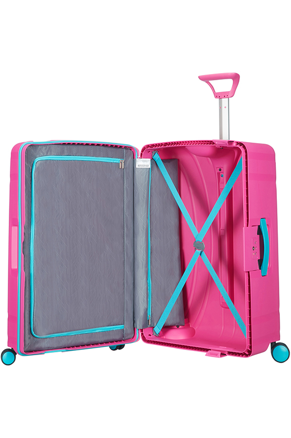 American Tourister Lock'n'Roll Spinner (4 wheels) 75cm Summer Pink ...