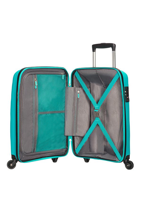 Bon Air 4 Wheel Cabin Baggage Spinner Suitcase 55x40x20cm
