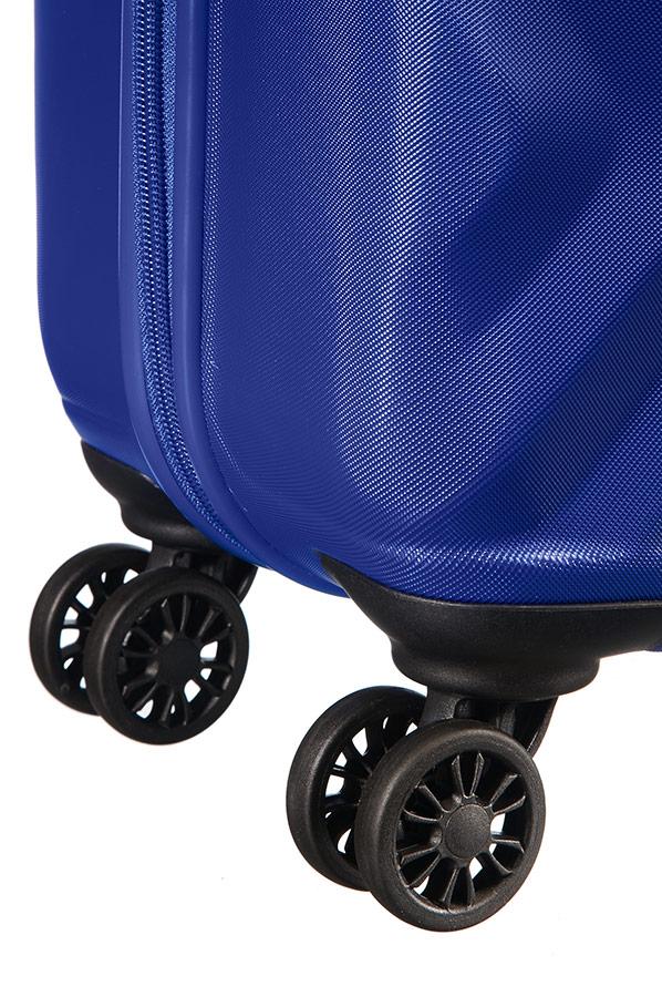 3774bddebe9d American Tourister Ziggzagg Spinner (4 wheels) 67cm Orion Blue ...