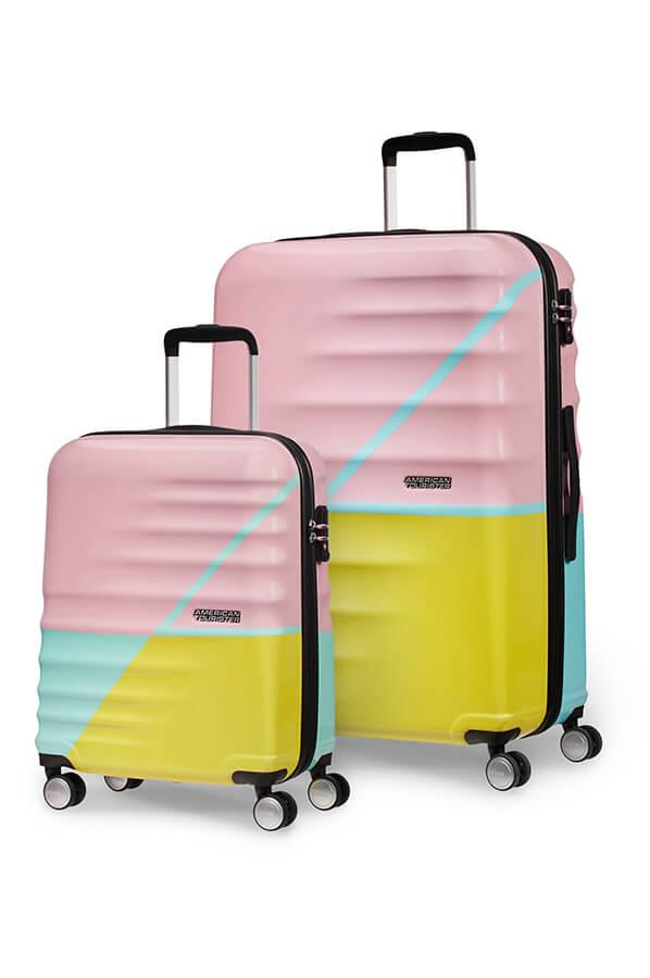 American Tourister Wavebreaker Luggage Set Zig Zag Rolling Luggage