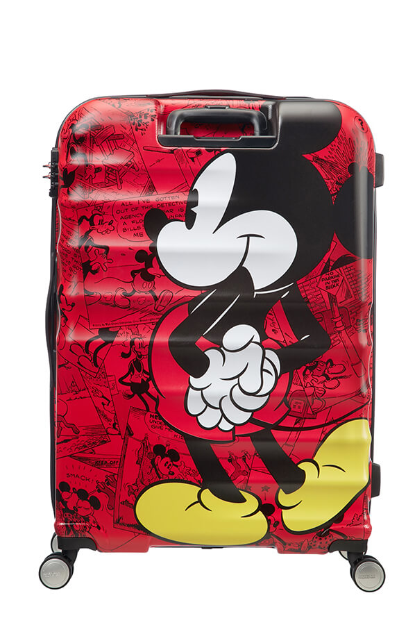 American Tourister Wavebreaker Disney Spinner (4 wheels) 77cm Mickey ... 26dd2bb455d98