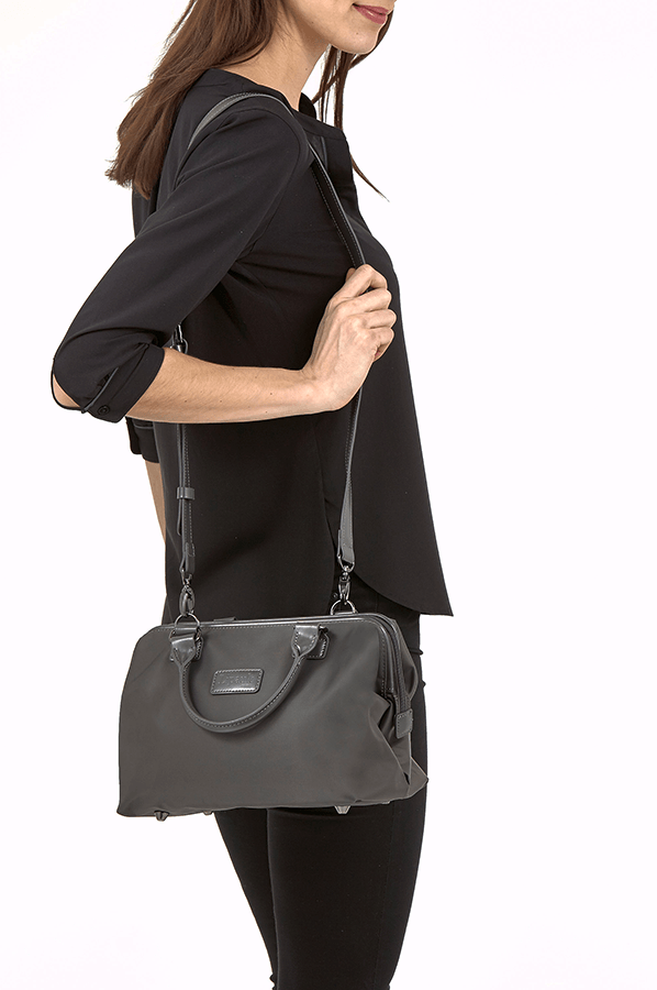 Lipault Lady Plume Bowling Bag S Anthracite Grey