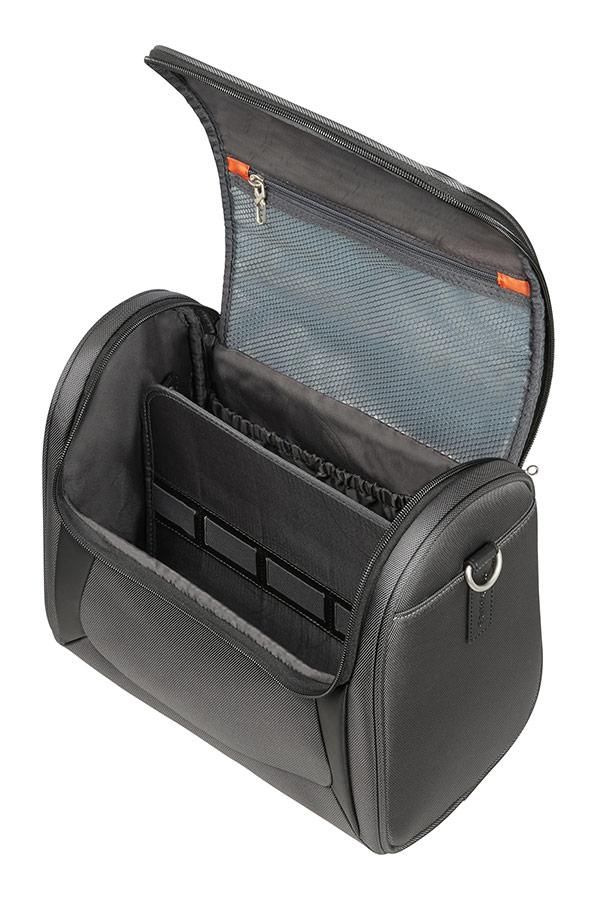 samsonite x 39 blade 3 0 beauty case grey black rolling luggage. Black Bedroom Furniture Sets. Home Design Ideas