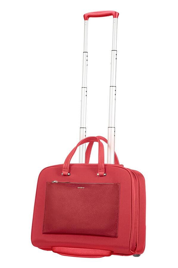 Samsonite Zalia Rolling Laptop Bag 15 6 Quot Red Rolling Luggage
