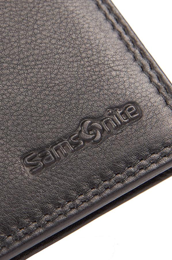 Samsonite Attack Slg Credit Card Holder Dark Brown   Rolling Luggage