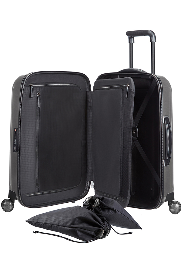 3a0c36868 Samsonite Lite-Cube DLX Spinner 55cm/20inch - samsonite.co.uk
