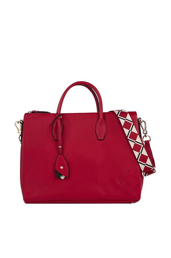Samsonite Seraphina Shopping Bag M Scarlet Red Rolling