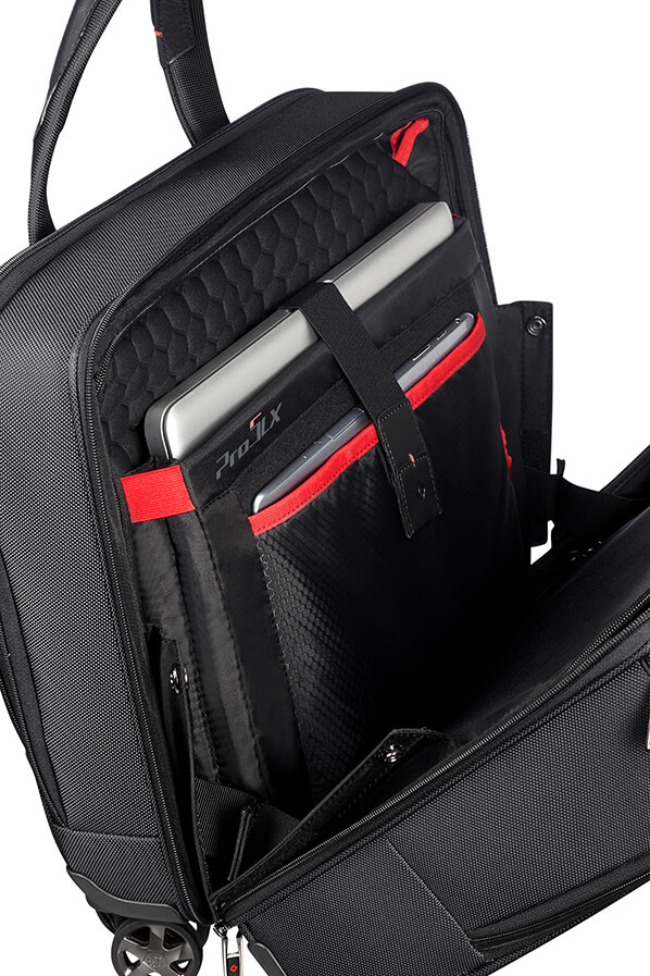 Samsonite Pro Dlx 5 Spinner 4 Wheels 15 6 Quot Black Rolling Luggage