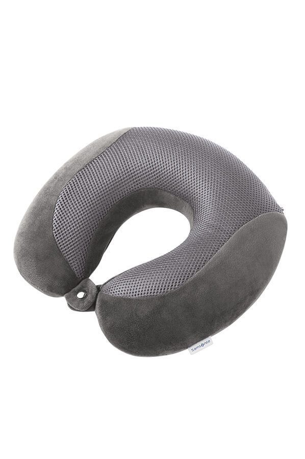 Cooling Travel Pillow in Grey