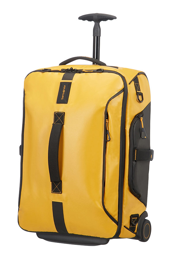 Paradiver Light Duffle On Wheels 55cm Backpack Yellow