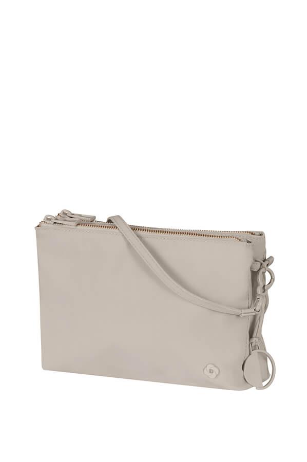 6a8e45b77 Samsonite Skyler 2.0 Crossover bag M Light grey | Rolling Luggage