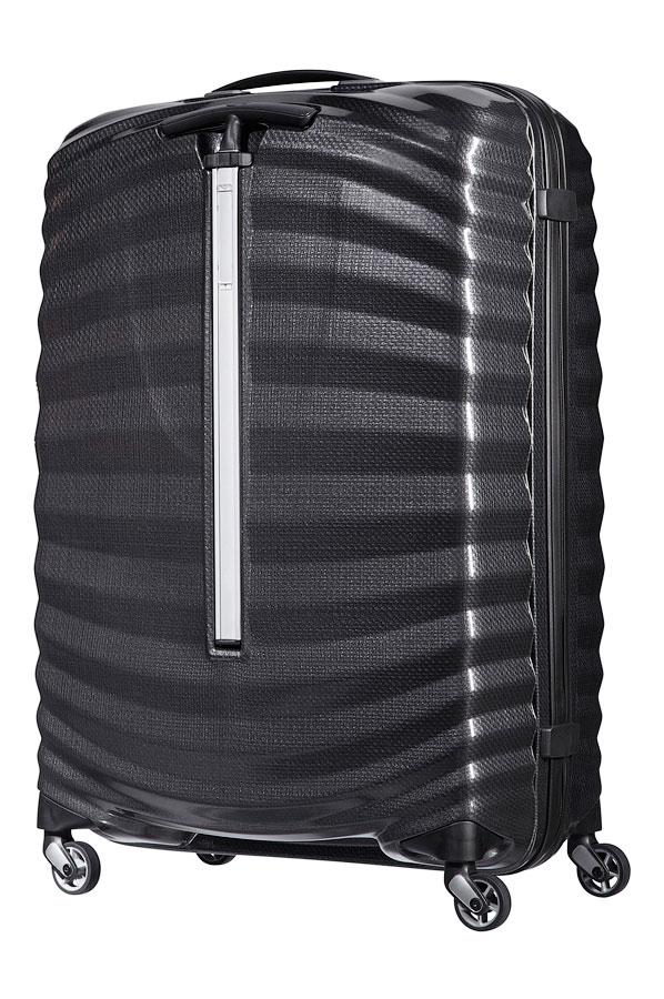 Samsonite Lite-Shock Spinner (4 wheels) 75cm Black | Rolling Luggage