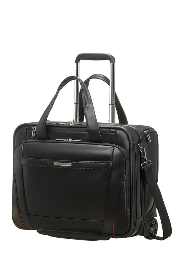 Samsonite Pro-Dlx 5 Lth Rolling laptop bag 15.6