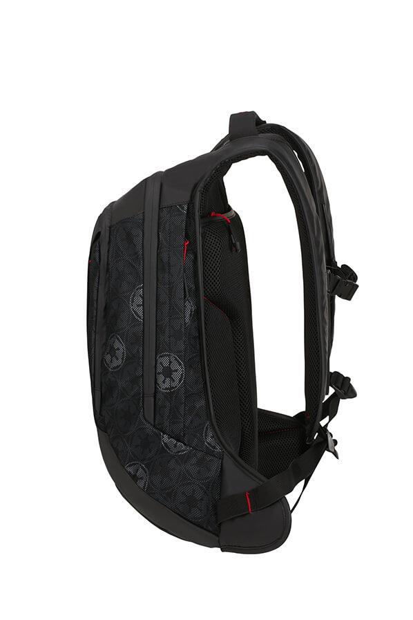 Samsonite Laptop backpack L 15.6 inch Darth Vader Black Mesh Black 45 cm-17 L