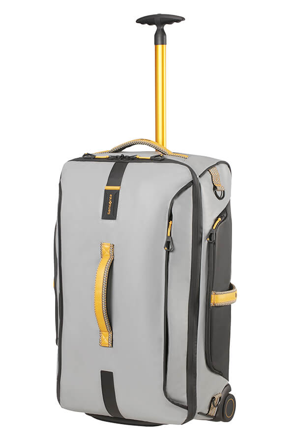 034123a993 Samsonite Paradiver Light Duffle with wheels 67cm Grey Yellow ...