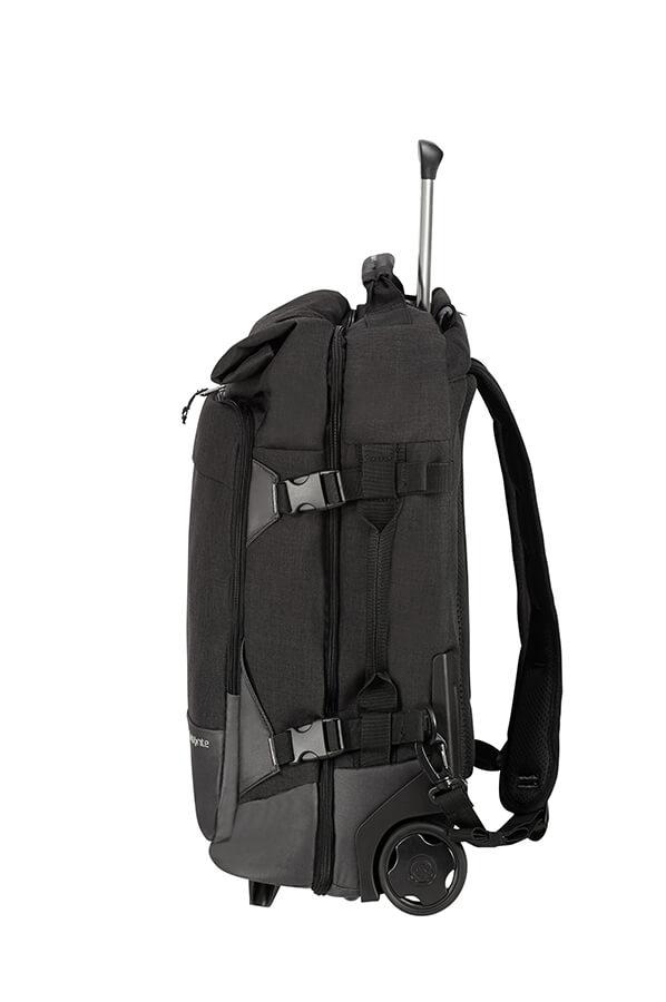samsonite wheels backpack duffle 55cm luggage rolling